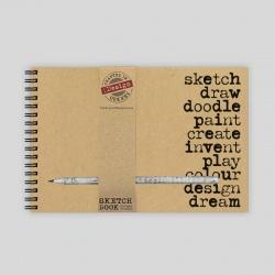 Sketch, Draw, Doodle Sketch Pad with Pencil - A5