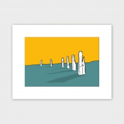 The Ring of Brodgar, Orkney Print