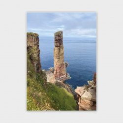 The Old Man of Hoy, Orkney II Greetings Card - A6