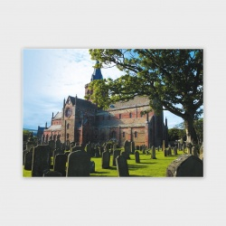 St Magnus Cathedral, Orkney Greetings Card - A6
