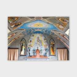 The Italian Chapel, Orkney Greetings Card - A6