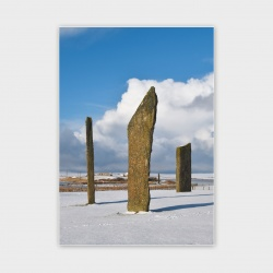 The Standing Stones, Orkney Greetings Card - A6