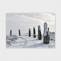 The Ring of Brodgar, Orkney II Greetings Card - A6