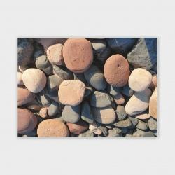 Orkney Beach Stones II Greetings Card - A6