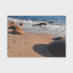 Orkney Water Stones II Greetings Card - A6