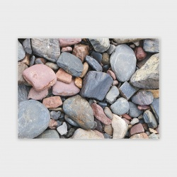 Orkney Sea Stones Greetings Card - A6