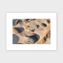 Orkney Beach Stones Print