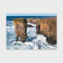 Yesnaby Stack, Orkney Greetings Card - A6