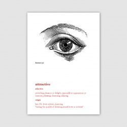 Attractive Greetings Card - A6