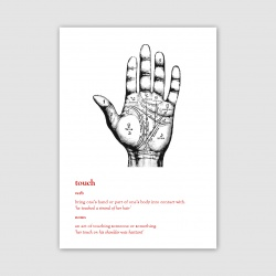 Touch Greetings Card - A6